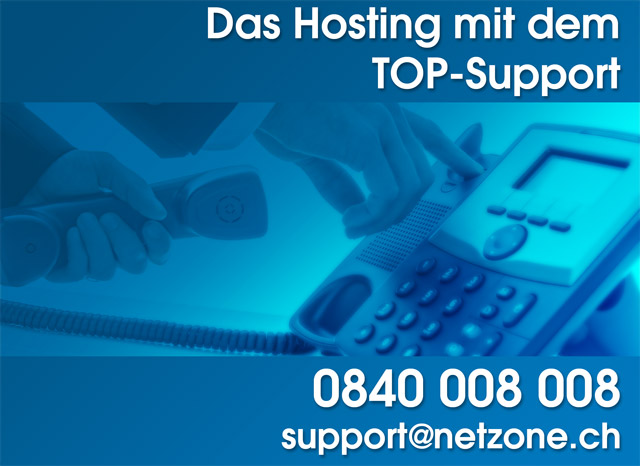 Top Support bei NetZone